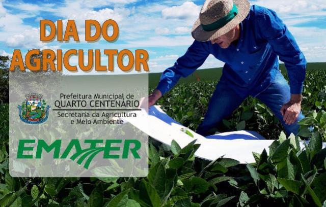 Com grande satisfação Quarto Centenário comemora o dia do Agricultor