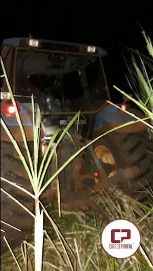 Rotam do 7º BPM recupera dois tratores roubados na zona rural de Quarto Centenário após denuncia anônima