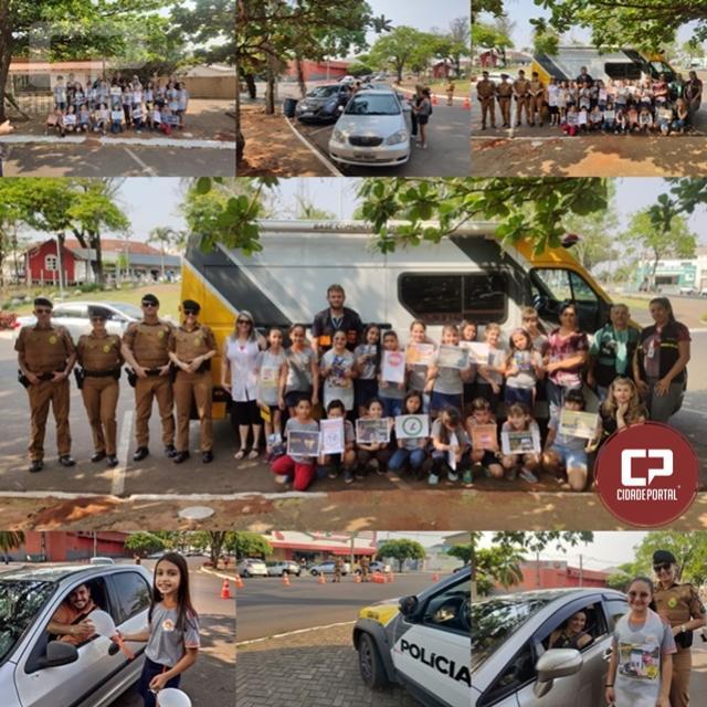 7º BPM realiza Blitz Educativa dando início a Semana Nacional de Trânsito