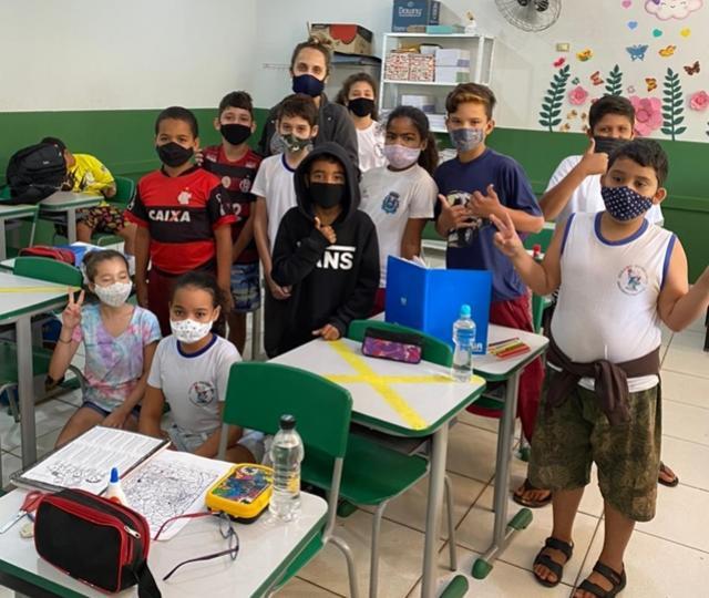 Psicóloga da Secretaria Municipal de Educação de Goioerê desenvolve projeto de oficinas terapêuticas