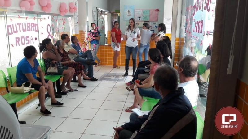 Secretaria de Saúde realiza palestra de planejamento familiar e direitos reprodutivos no Jardim Tropical