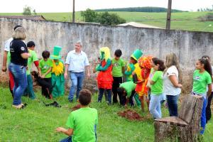 Alunos do 4º Ano desenvolveram projeto que uniu literatura e meio ambiente resgatando a história do nome de Jaracatiá