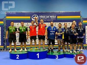 Tênis de mesa de Goioerê brilha no Campeonato Brasileiro Interclubes 2019 em São Paulo