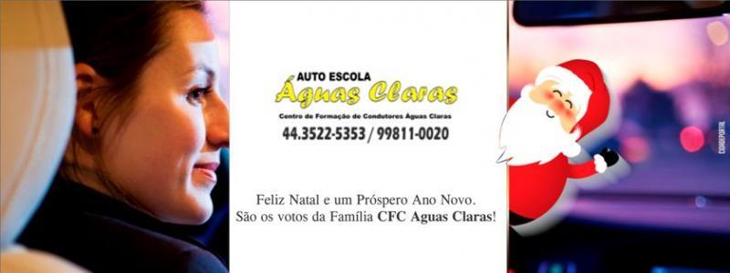 A Família CFC Águas Claras deseja a todos um Feliz Natal e um Próspero Ano Novo!