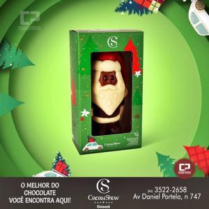 A Família Cacau Show deseja um Feliz Natal e um Próspero Ano Novo a todos!