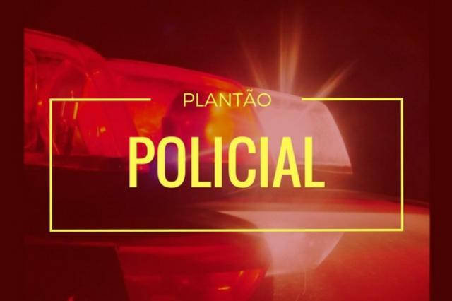 Uma pessoa foi detida pela Polícia Militar por desobediência, resistência e posse ilegal de arma branca