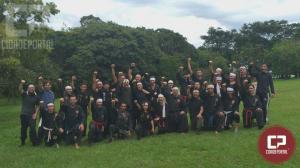 Acampamento de treinamento marcial aconteceu neste final de semana em Goioerê