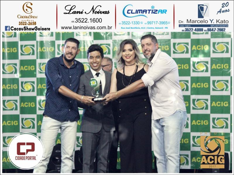 A GoioSat recebeu o Prêmio ACIG - Melhores do Ano de 2017
