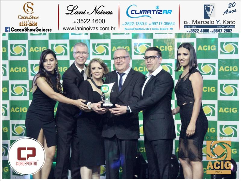 Clinica Pró Vida recebeu o Prêmio ACIG - Melhores do Ano de 2017