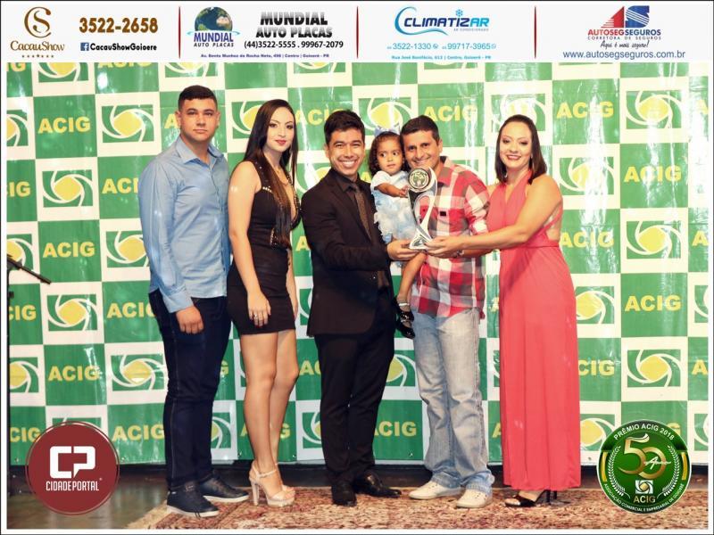 Caju Auto Elétrica recebeu o Prêmio ACIG - Melhores do Ano de 2018