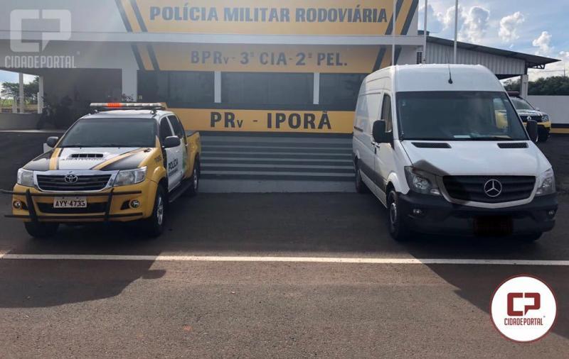 Posto Policial de Iporã apreende veículo com mais de 80 mil maços de cigarro