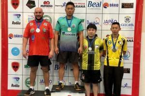 Goioerê sobe ao pódio na 4ª Etapa do Campeonato Paranaense de Tênis de Mesa