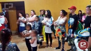 Mais venezuelanos desembarcaram em Cascavel e foram direcionados para viver em Goioerê