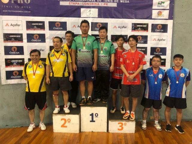 Equipe de Tênis de Mesa de Goioerê participou do Campeonato Paranaense em Londrina