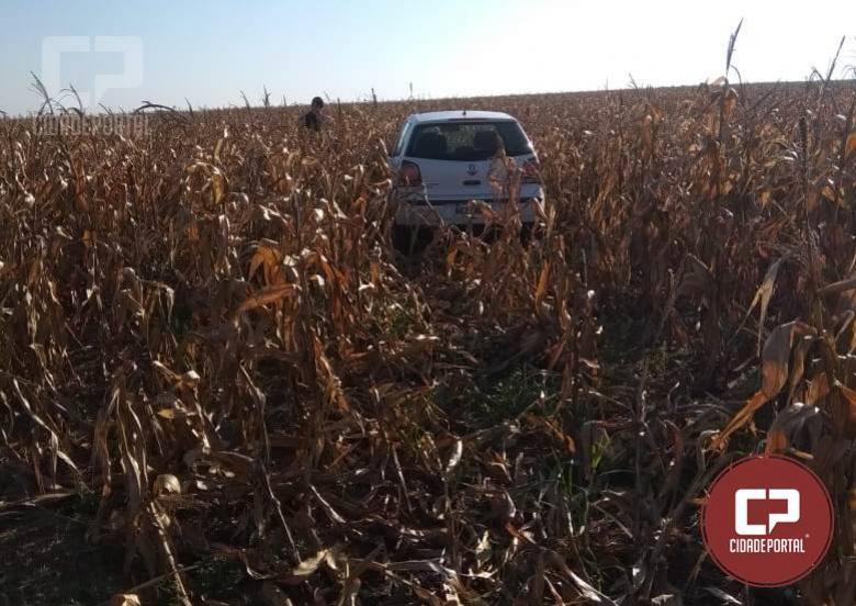Polícia Militar recupera dois veículos roubados durante assalto na cidade de Goioerê nesta sexta-feira, 17