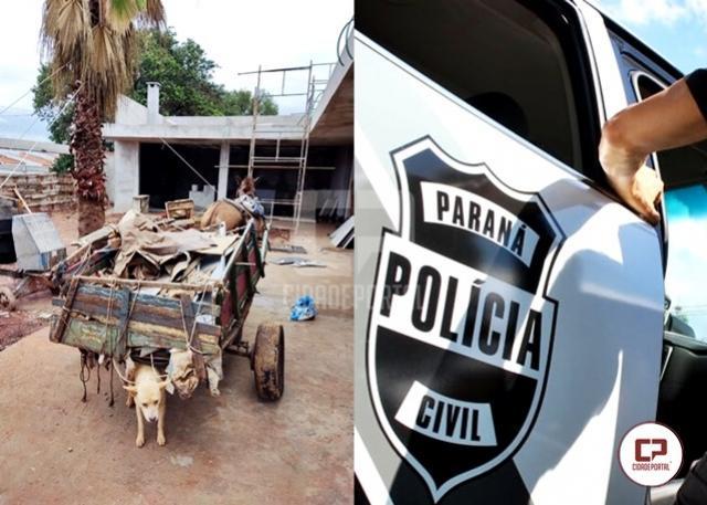 Polícia Civil age rápido e recupera objetos furtados de obra de construção em Goioerê