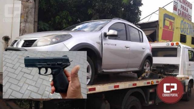 Policia Militar de Sarandi recupera veículo após acompanhamento tático