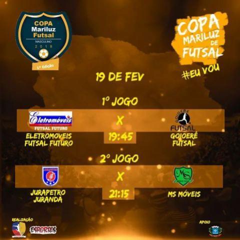 Goioerê Futsal estreia nesta segunda na Copa Mariluz Futsal