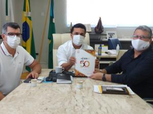 Construção de blocos: Diretor do CRG solicitou apoio da Prefeitura para elaboração dos projetos