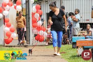 Cãominhada foi realizada em alusão as comemorações do aniversário 4º BPM em Maringá