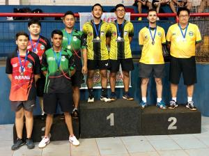 Tênis de Mesa de Goioerê é Vice Campeão Paranaense
