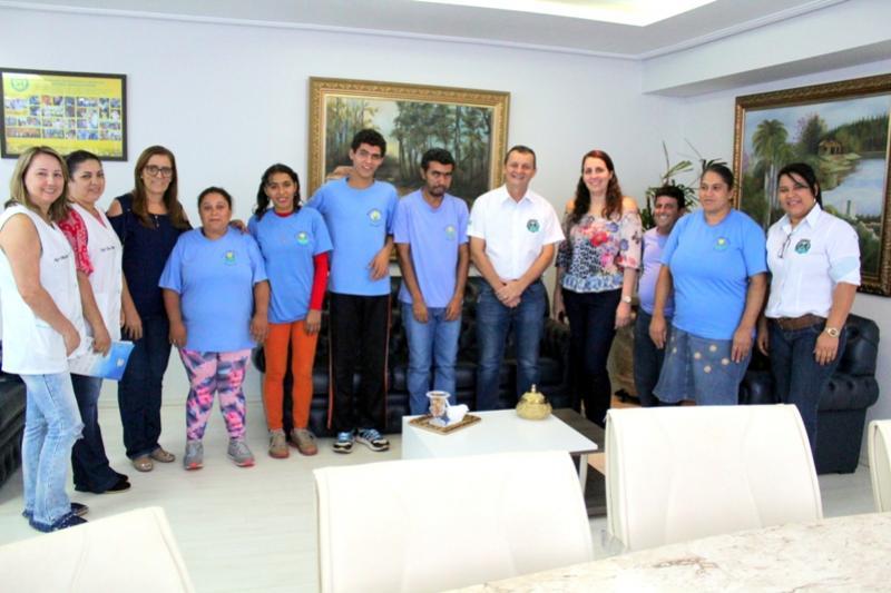 Projeto de arborização da APAE em espaço institucional do município será tema do Projeto Agrinho 2018