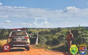 Polícia Militar também realiza patrulhamento rural na área do 7º BPM