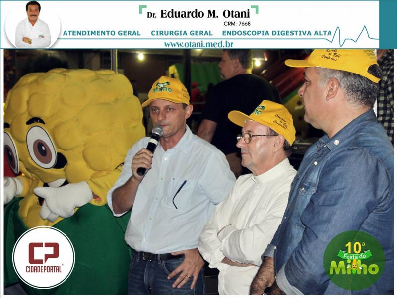 Fotos da Festa do Milho de sexta-feira, 18 - Pedro Coelho participou da abertura oficial
