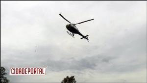 Bombeiros Militares do 3º Subgrupamento participam de instrução com helicóptero  em Campo Mourão