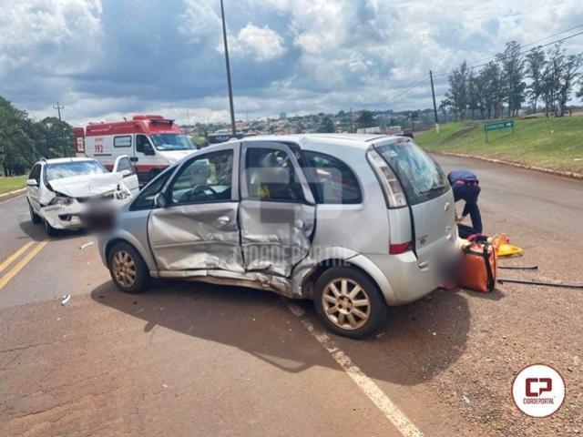 Grave acidente no trevo de Goioerê deixa vítimas feridas