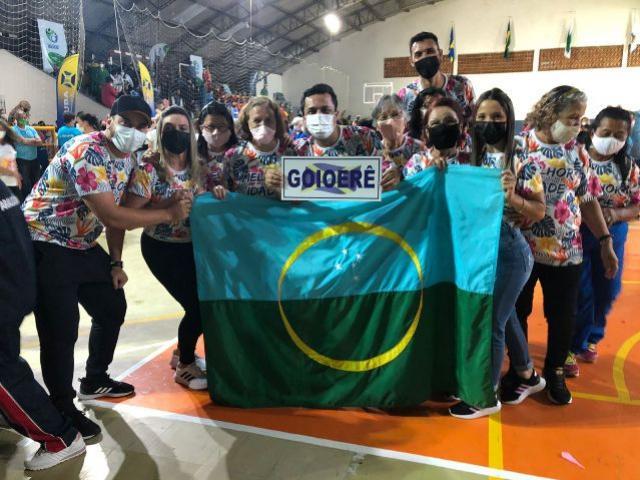 Delegação de Goioerê participa da abertura dos jogos da Integração do Idoso