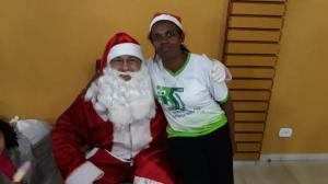 Dezenas de famílias participaram da confraternização de Natal da Pastoral da Criança