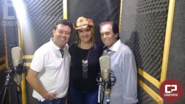 Cantora Cléo Barbosa lança sua mais nova música com a participação especial do cantor Caim