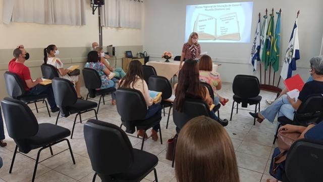 NRE de Goioerê promoveu reunião com os diretores das Escolas Estaduais