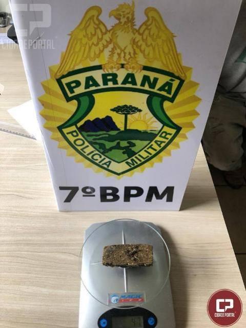 Policia Militar de Cruzeiro prende três pessoas e apreendem drogas nesta terça-feira, 19