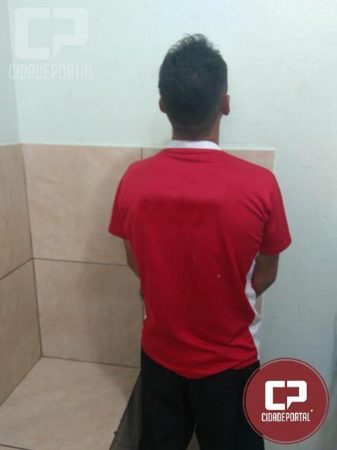 Policia Militar prende indivíduo suspeito de ter praticado diversos roubos na cidade de Maringá