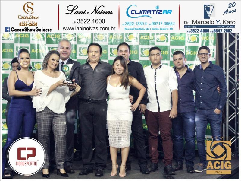 Casa de Carne Combate recebeu o Prêmio ACIG - Melhores do Ano de 2017