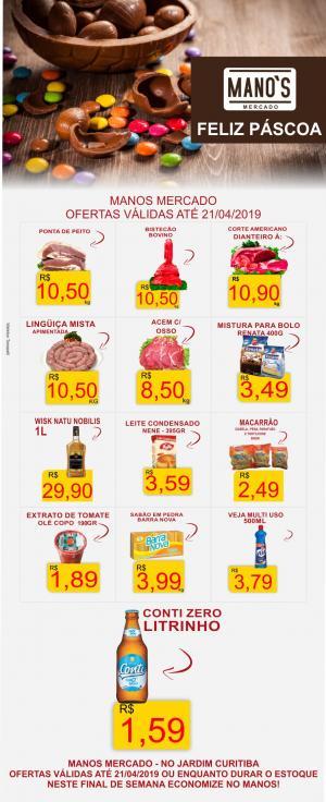 Final de Semana com Economia? vai para o Manos Mercado! - aproveite as ofertas até domingo dia 21