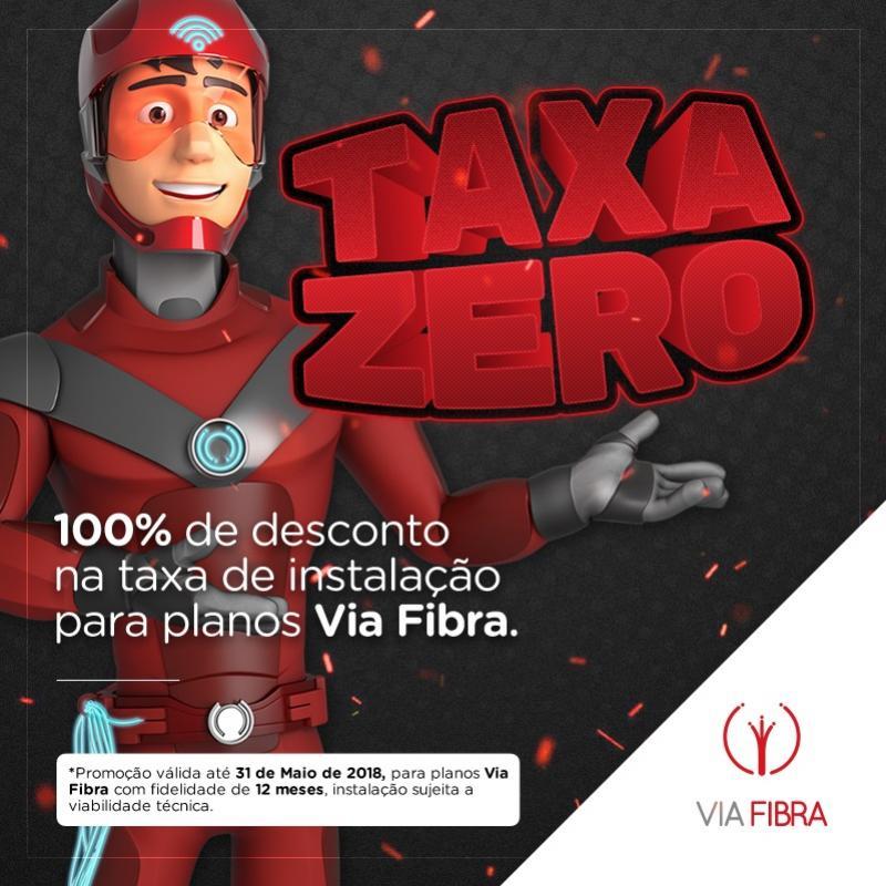 Visãonet - Taxa Zero! - qualquer plano via fibra óptica a taxa de instalação é gratuita!