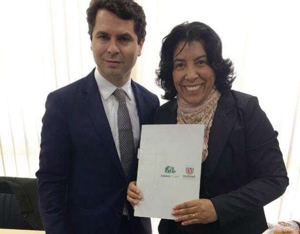 Deputado Alexandre Curi destaca importância de melhorias urbanas para Rancho Alegre d'Oeste