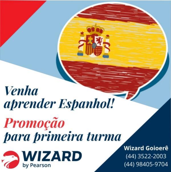 Wizard Goioerê oferece curso de ESPANHOL!