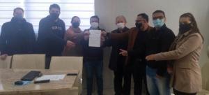 Prefeito Betinho Lima recebe vereadores e representantes religiosos