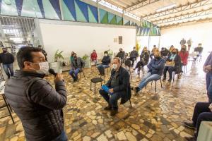 Lideranças debatem situação do curso de Engenharia Têxtil em Goioerê