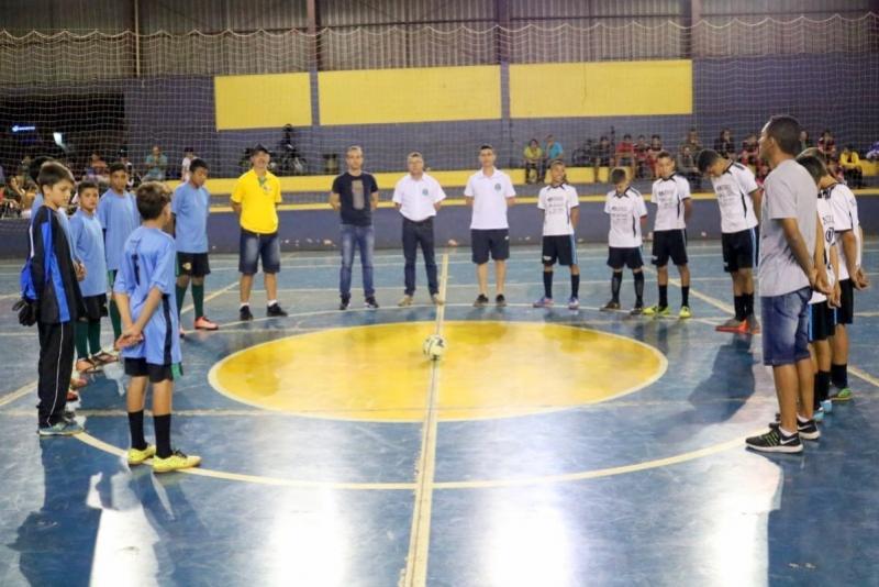 Goioerê promove a Copa Municipal de Base visando a integração social entre crianças e adolescentes