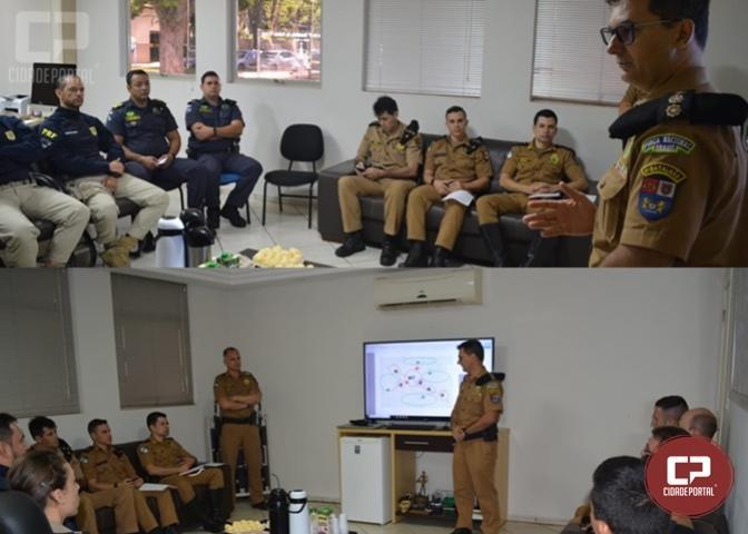 Polícia Militar realiza reunião sobre ações de segurança em Maringá