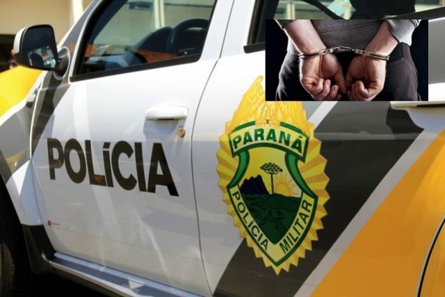 PM prende duas pessoas que tentavam arremessar objetos para detentas na cadeia de Goioerê
