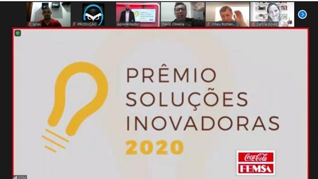 Estudante das Faculdades da Indústria vence premiação interna na Coca-Cola do Brasil