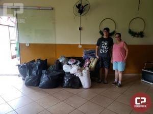 Realizada entrega de roupas, sapatos e cobertores para o projeto CREER nesta sexta, 20