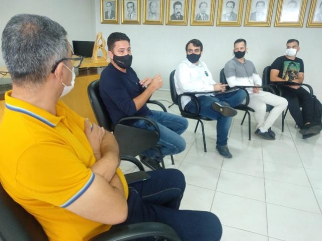 Prefeitura recebeu visita de técnico da Celepar para iniciar projeto de transformação digital da gestão pública