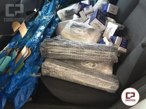 Posto Policial Rodoviário de Iporã apreende veículo com produtos contrabandeados